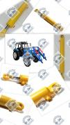 Hydraulic cylinder KUN, SNU, PKU-08
